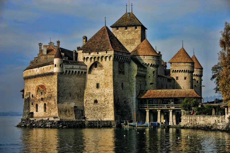 Chillion Castle, Montreux Switzerland