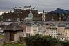 Inside the walls of Salzburg - Overlooking Alstadt, Salzburg Austria