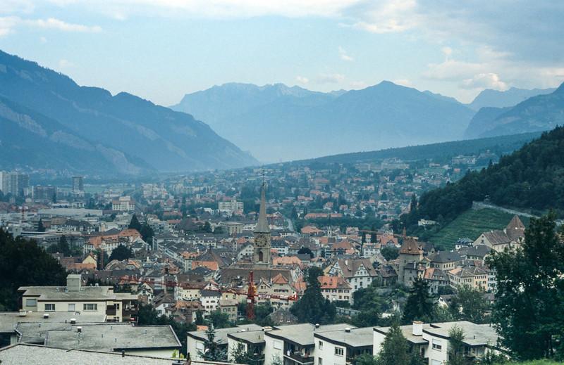 Lucerne, Switzerland - August 1985