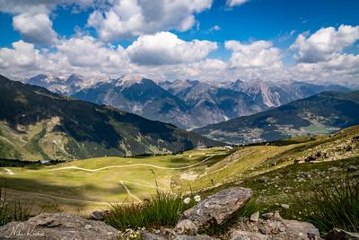 Schönjochtal Panorama (Tyrol)