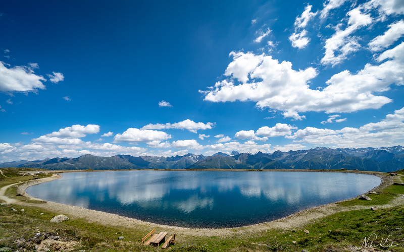 Water Reservoire Frommes Panorama (Tyrol)