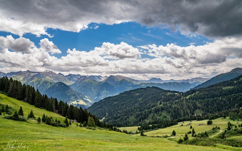 Serfaus Panorama (Tyrol)