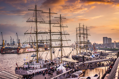 HAMBURG: Tall Ships