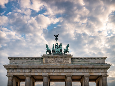 BERLIN: Brandenburger Tor / Brandenburg Gate