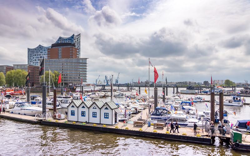 Harbour Scene (Hamburg)
