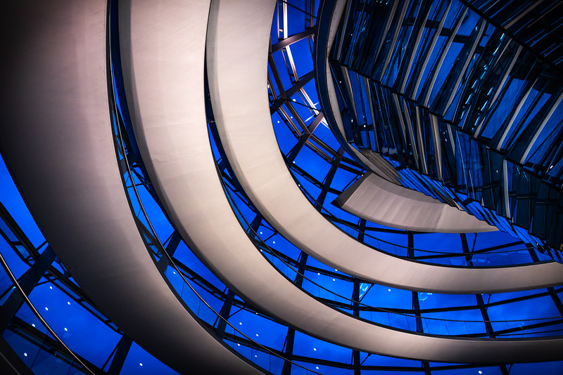 Reichstag / Parliament Glass Dome (Berlin)