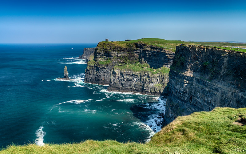 Cliffs And Stack