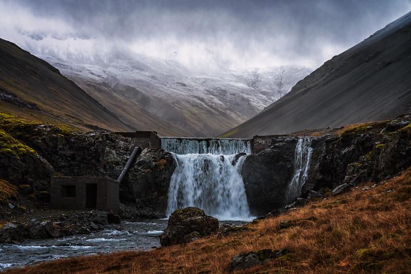 Gloomy Waterfall