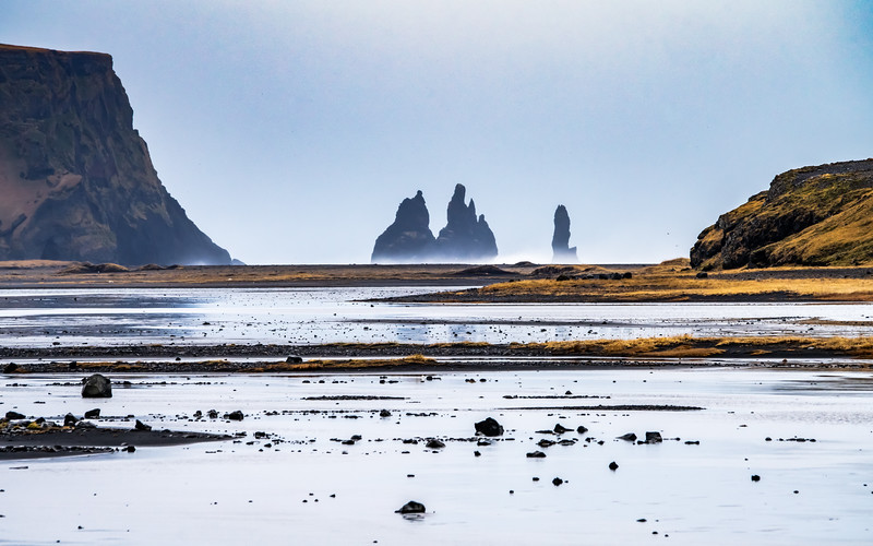 Reynisfjara Stacks