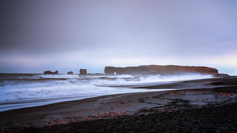 Reynisfjara Storm