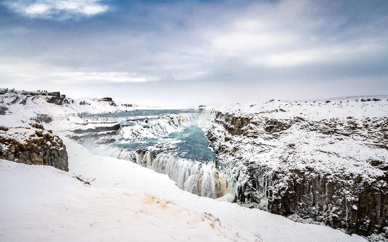 Gullfoss on Ice