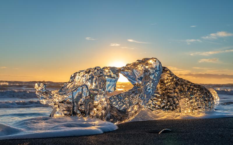 Ice Crystal In The Sun