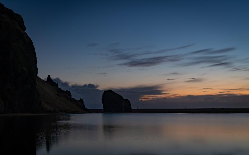 Blue Hour Rocks