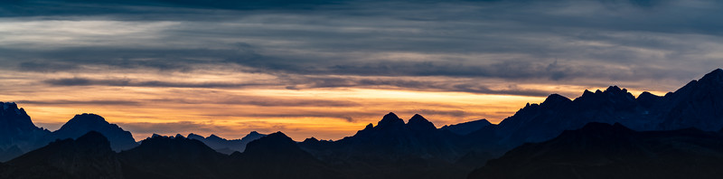 Sunset Dolomites