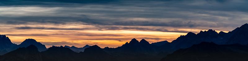 Sunset Dolomites