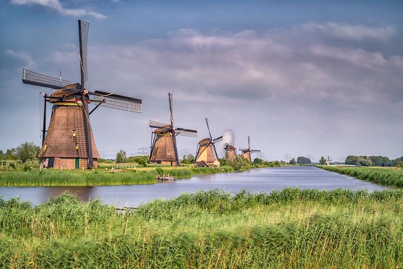 Kinderdijk Windmills #2