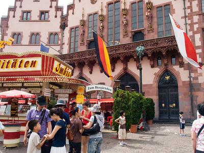 Frankfurt - Romer area