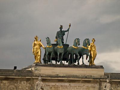 Arc the Triomphe - close up