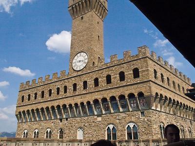 Florence - from the Uffizi