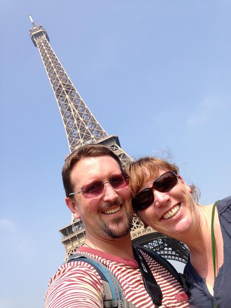 Euroselfie: Eiffel Tower