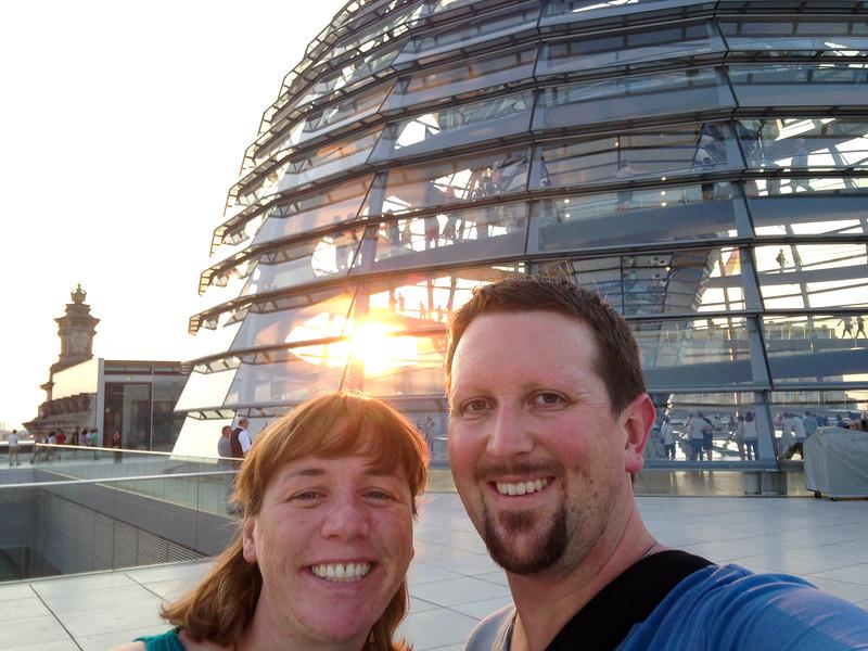 Euroselfie: Reichstag Dome