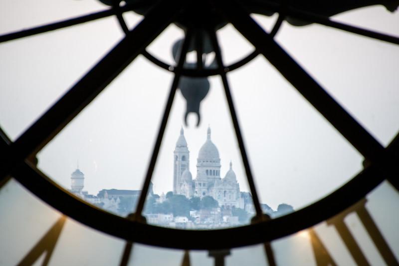 Sacré-Cœur from Musée d'Orsay