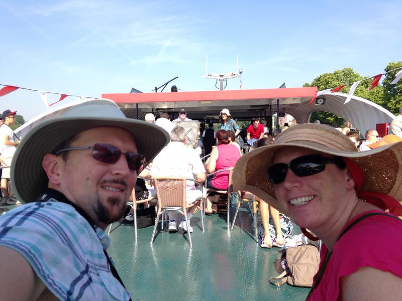 Euroselfie: Rhine River Cruise