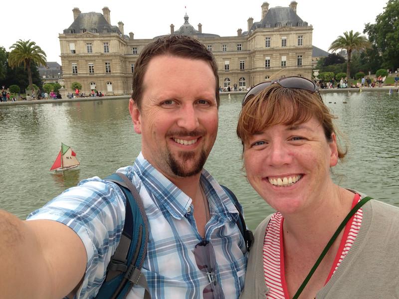 Euroselfie: Luxembourg Gardens