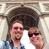 Euroselfie: Arc du Triomphe Bottom