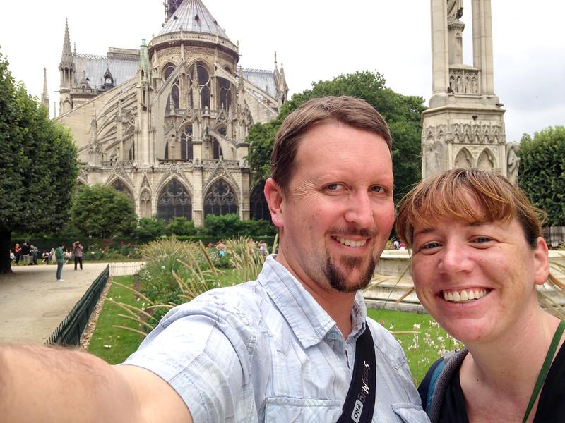 Euroselfie: Notre Dame