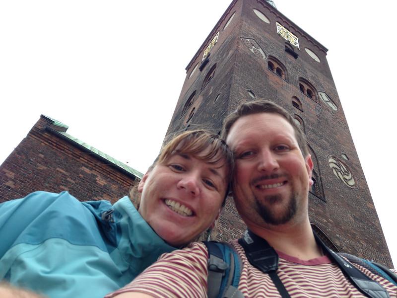 Euroselfie: Aarhus Cathedral