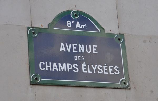 Avenue DES Champs Elysees
