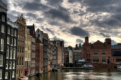 A fun HDR shot of Amsterdam