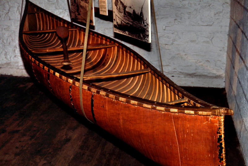 Bark Canoe (Canadian)<br /> <br /> Exeter Maritime Museum