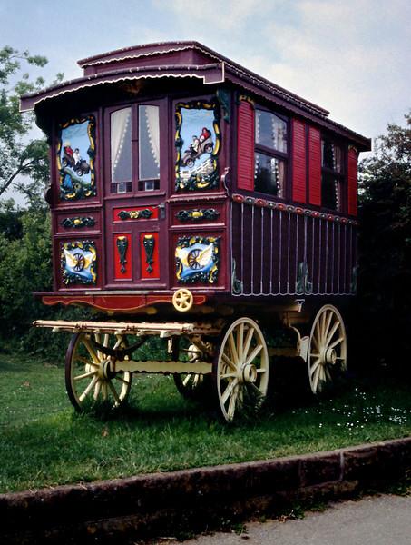 Gypsy Wagon<br /> <br /> Day 69 (cont.) - Ladram Bay campground.