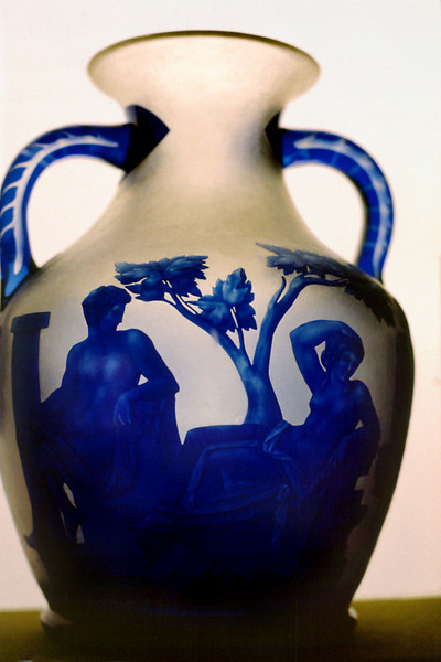 Cameo Glass Vase<br /> <br /> Day 68 (cont.) - Royal Albert Museum