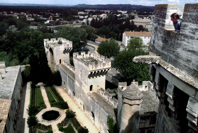 View, Castle Tarascon