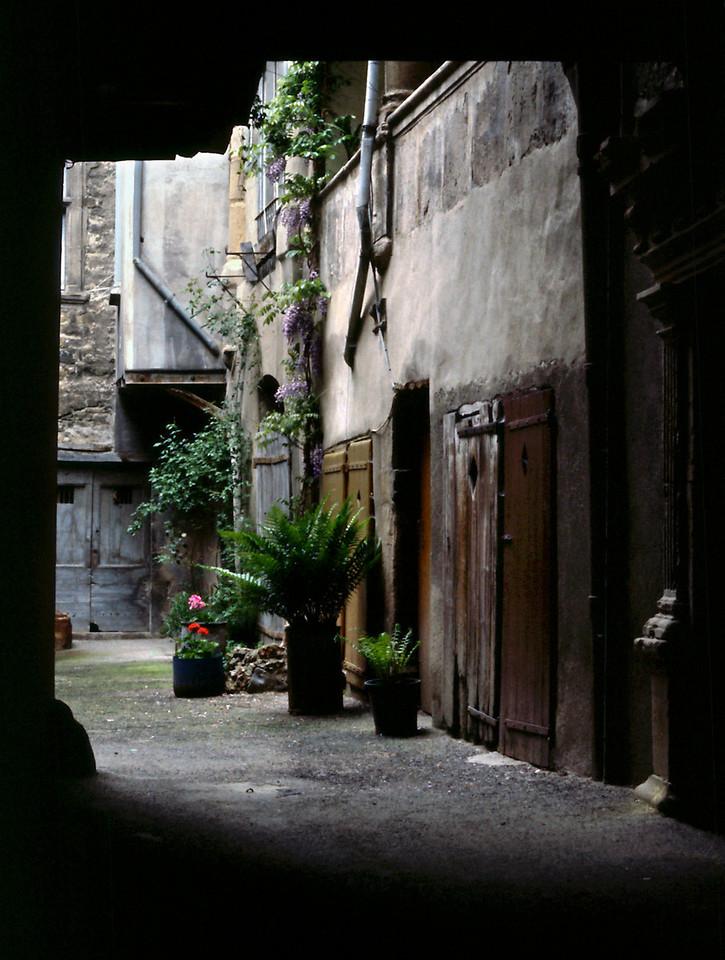 Millau Courtyard