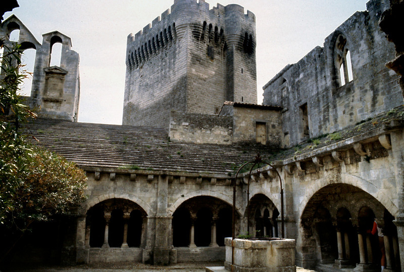Museum Courtyard, Arles