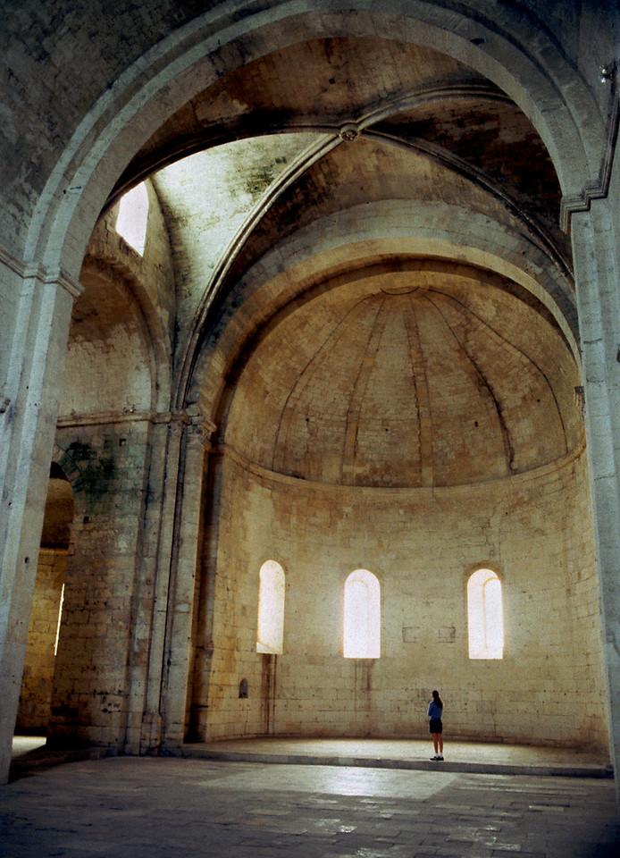 Abby Dome, interior