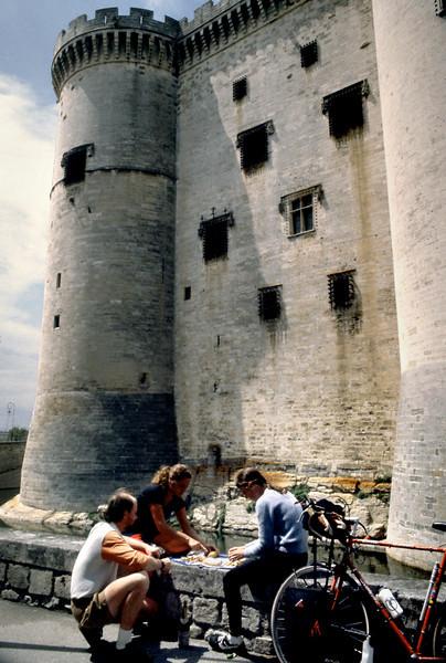 Lunch, Castle Tarascon