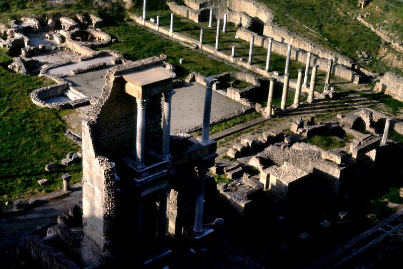 Roman Ruins, Volterra, Italy