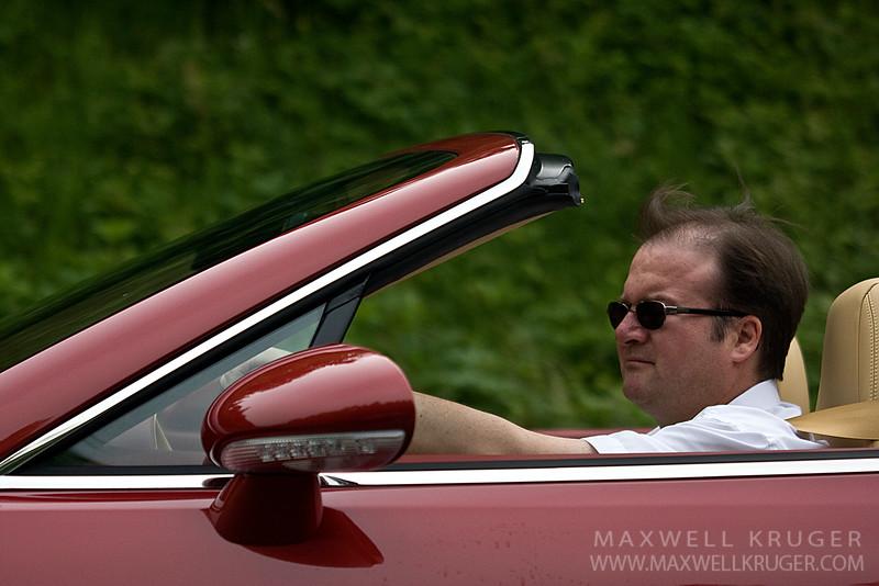 Switzerland Bentley man.