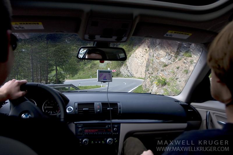 Italian curvy roads.  Fun.