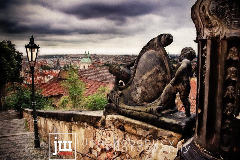 """""""Castle Steps"""" - Prague, Czech Republic"""