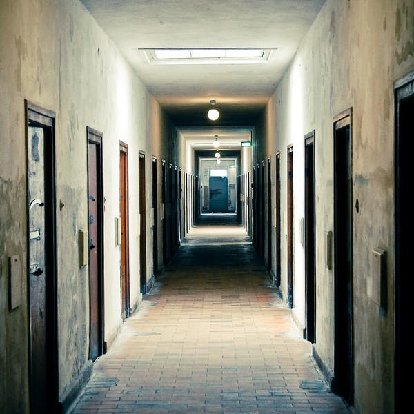 """""""Halls of Dachau"""" - Dachau Concentration Camp, Germany"""