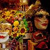 Carnival masks, Venice, Italy, 2001