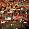"""Bruges, Belgium, 1996. This was taken from the same tower that a man fell to his fictional death in the movie, """"In Bruges."""""""