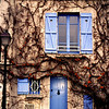 Blue Doors and Shutters, Montmartre, Paris, 2001.