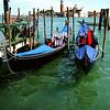 Gondolas, Venice, Italy, 1996